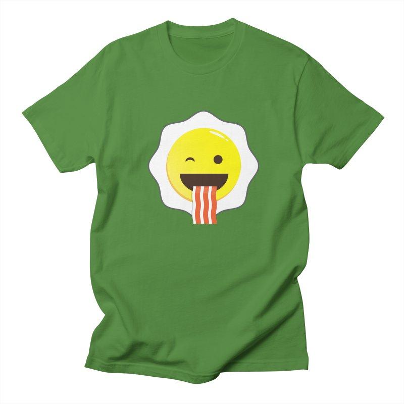Breakfast Wink Men's Regular T-Shirt by Diardo's Design Shop