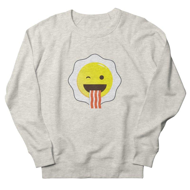Breakfast Wink Women's French Terry Sweatshirt by Diardo's Design Shop