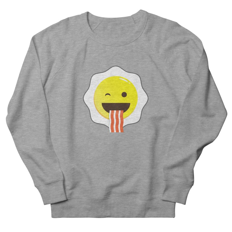 Breakfast Wink Men's Sweatshirt by Diardo's Design Shop