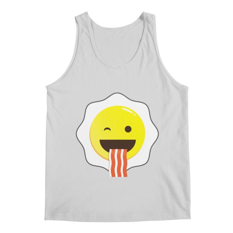 Breakfast Wink Men's Regular Tank by Diardo's Design Shop