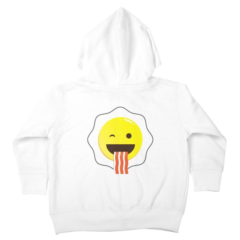 Breakfast Wink Kids Toddler Zip-Up Hoody by Diardo's Design Shop