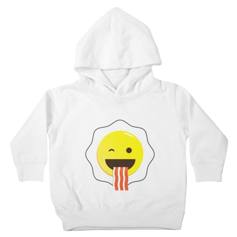 Breakfast Wink Kids Toddler Pullover Hoody by Diardo's Design Shop