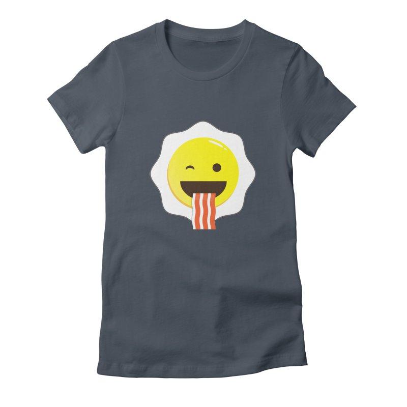 Breakfast Wink Women's T-Shirt by Diardo's Design Shop