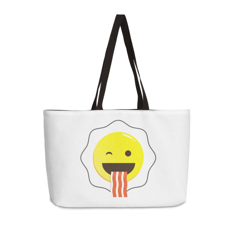 Breakfast Wink Accessories Weekender Bag Bag by Diardo's Design Shop
