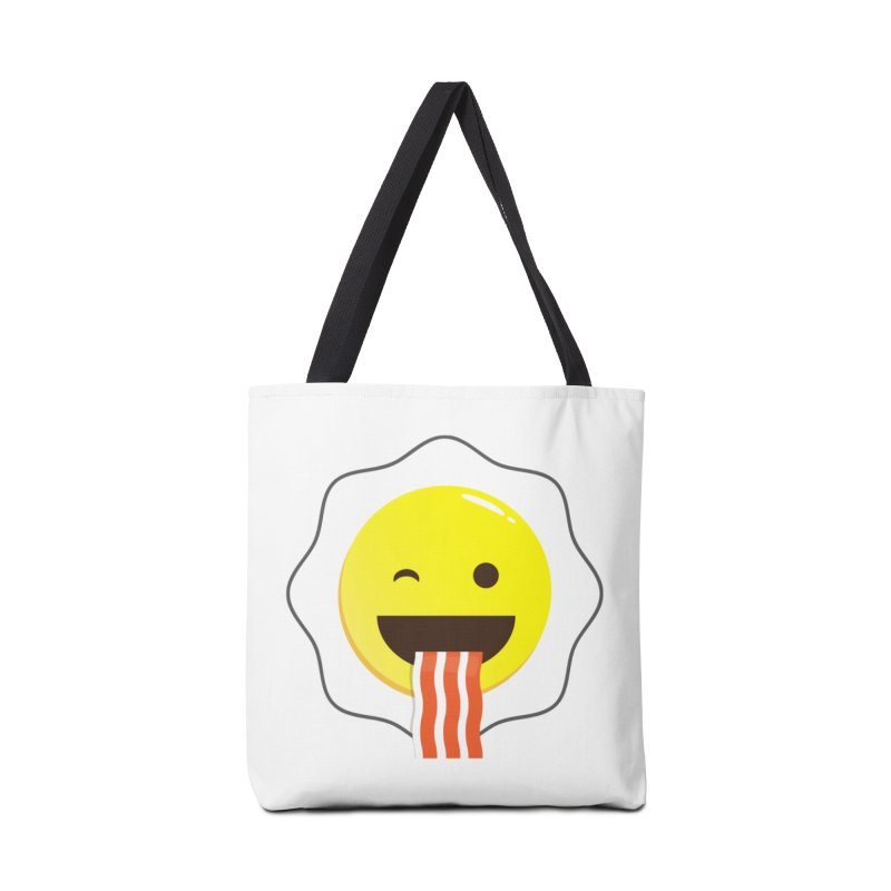 Breakfast Wink Accessories Tote Bag Bag by Diardo's Design Shop