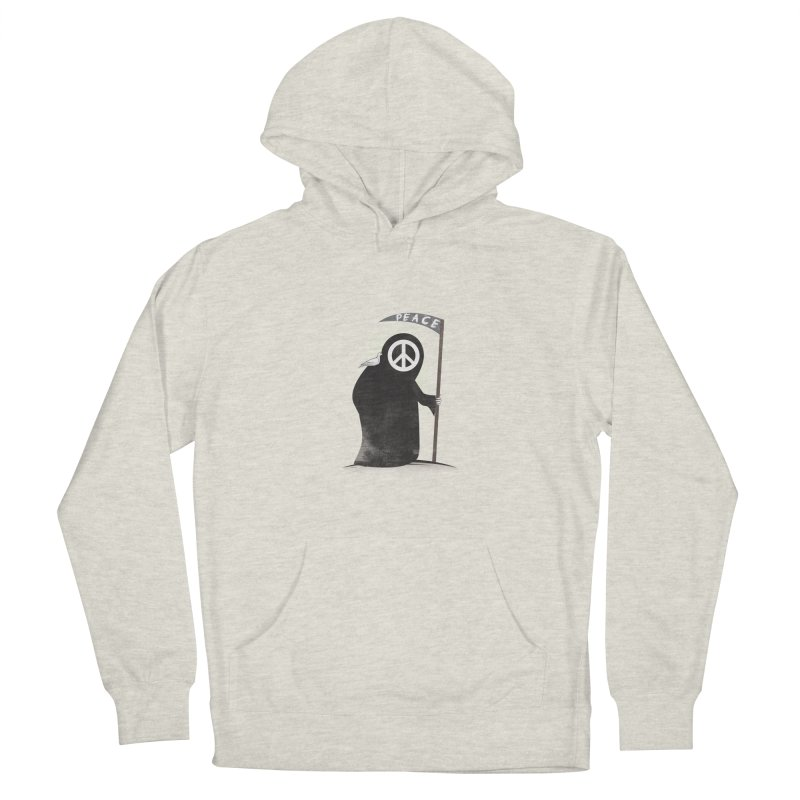 I'm here to bring Peace Men's Pullover Hoody by Diardo's Design Shop