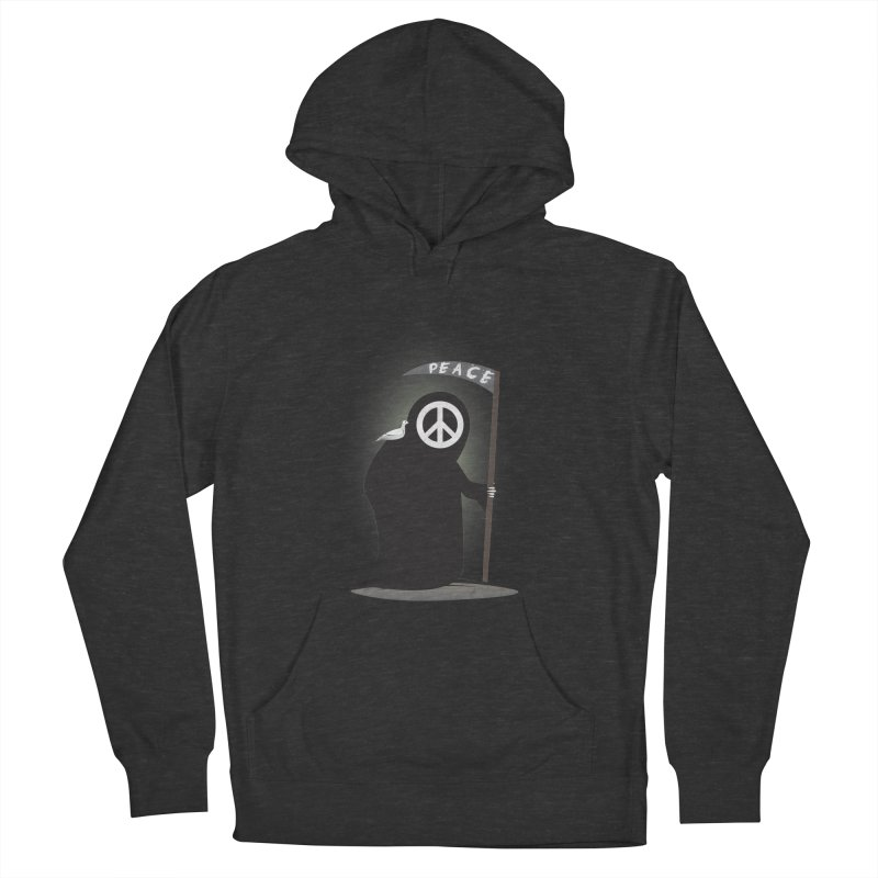 I'm here to bring Peace Women's French Terry Pullover Hoody by Diardo's Design Shop
