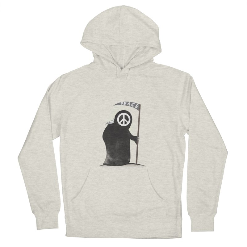 I'm here to bring Peace Men's French Terry Pullover Hoody by Diardo's Design Shop