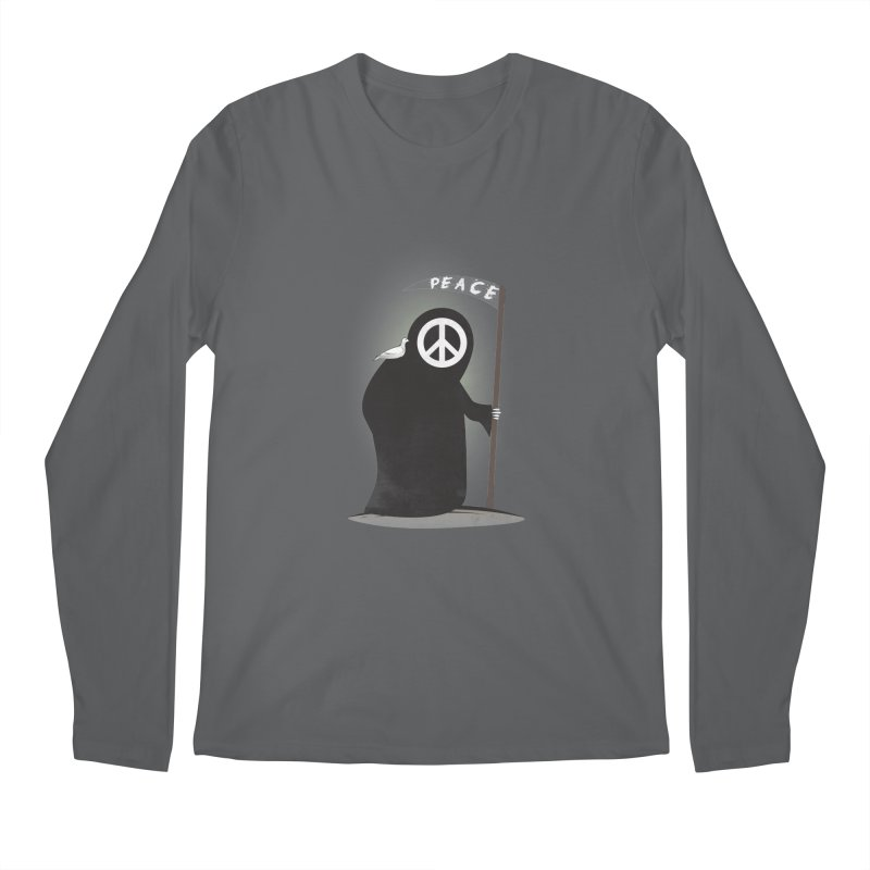 I'm here to bring Peace Men's Regular Longsleeve T-Shirt by Diardo's Design Shop