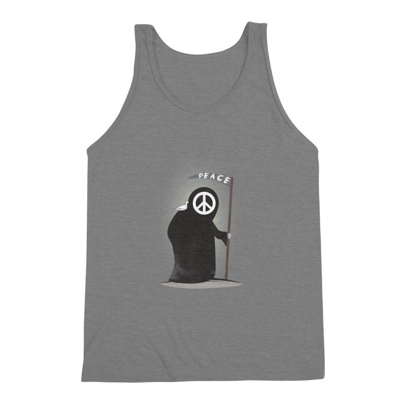 I'm here to bring Peace Men's Triblend Tank by Diardo's Design Shop