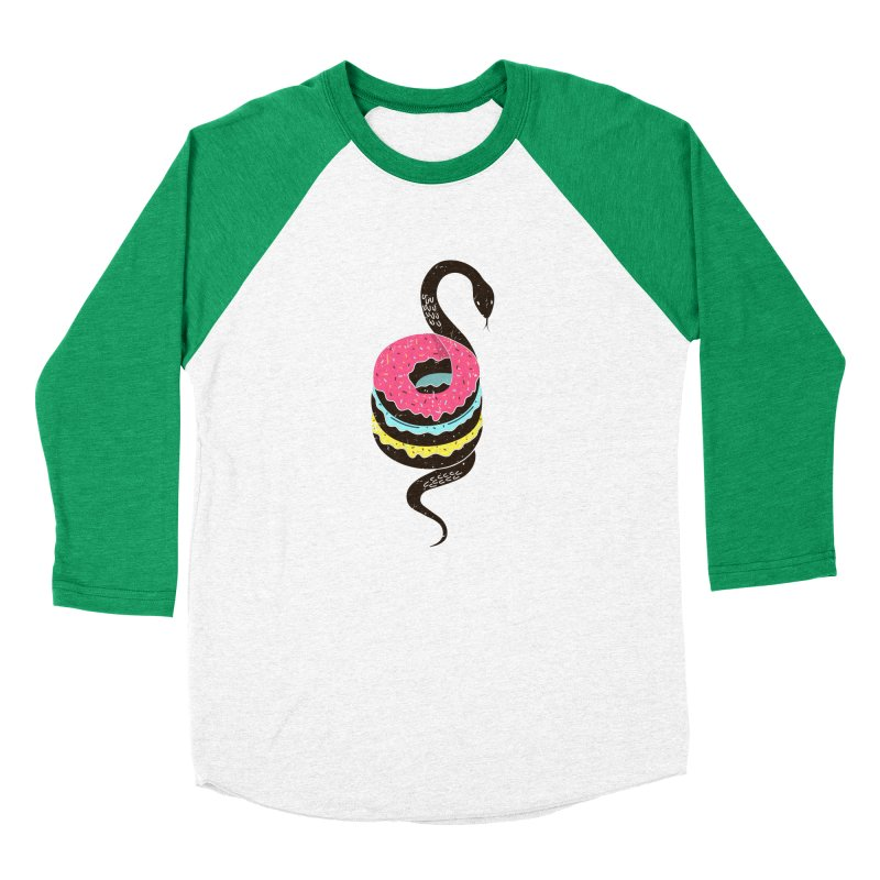 Snake Donuts Men's Longsleeve T-Shirt by Diardo's Design Shop