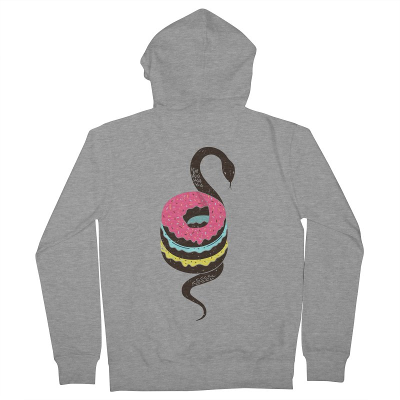 Snake Donuts Women's Zip-Up Hoody by Diardo's Design Shop