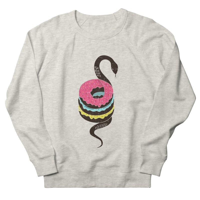 Snake Donuts Women's Sweatshirt by Diardo's Design Shop