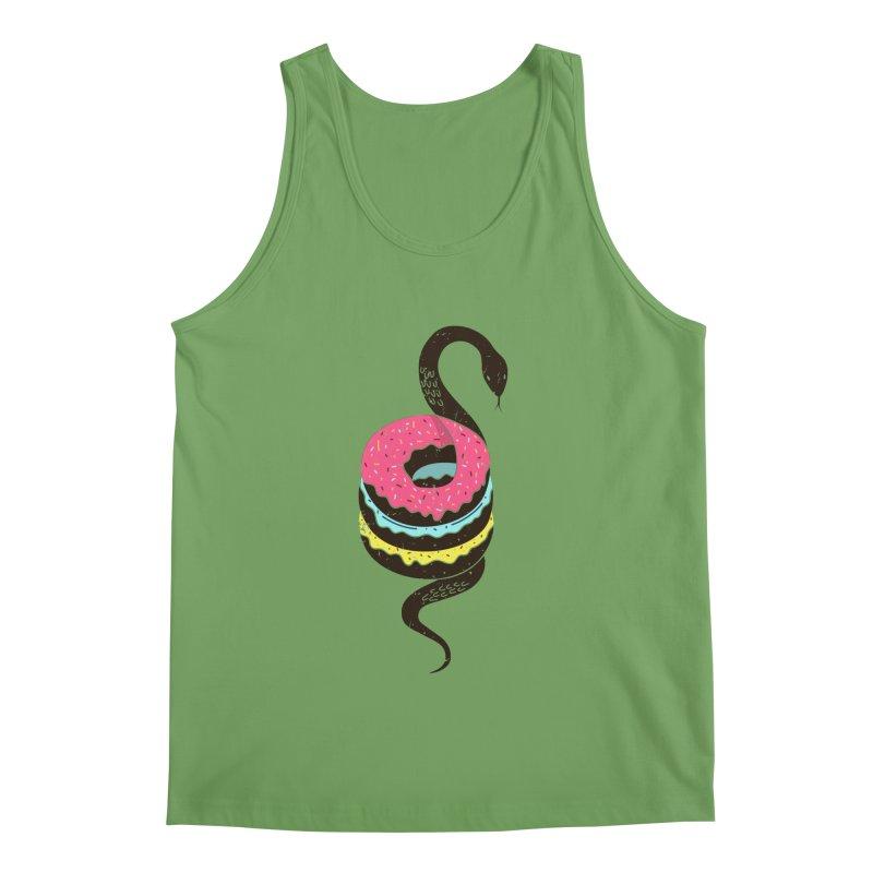 Snake Donuts Men's Tank by Diardo's Design Shop