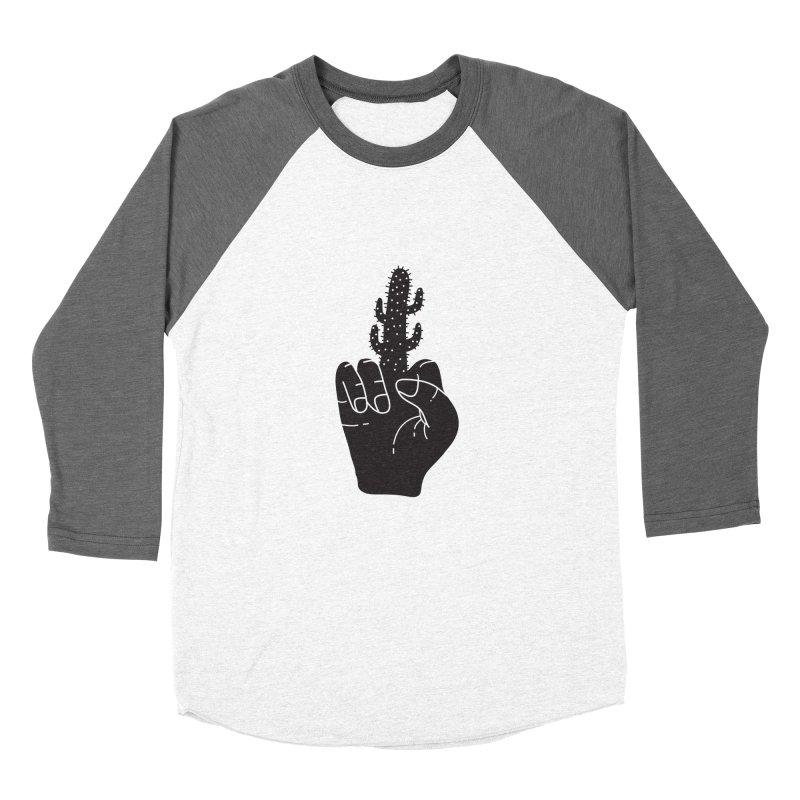 Look, a cactus Women's Longsleeve T-Shirt by Diardo's Design Shop