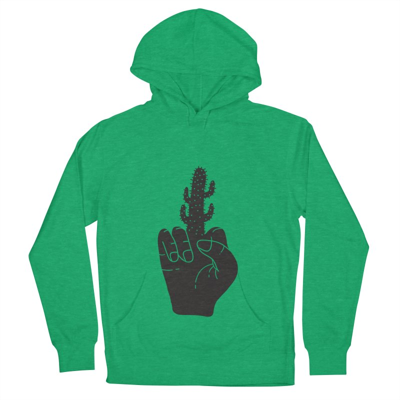 Look, a cactus Men's French Terry Pullover Hoody by Diardo's Design Shop