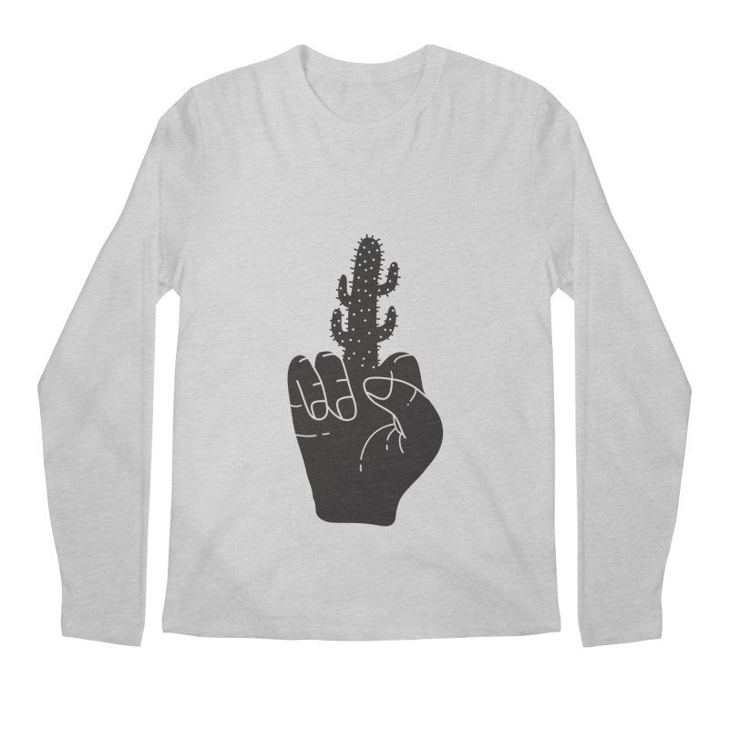 Look, a cactus Men's Regular Longsleeve T-Shirt by Diardo's Design Shop