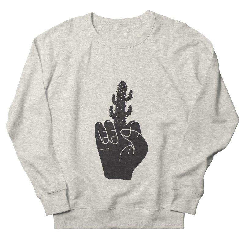 Look, a cactus Women's French Terry Sweatshirt by Diardo's Design Shop