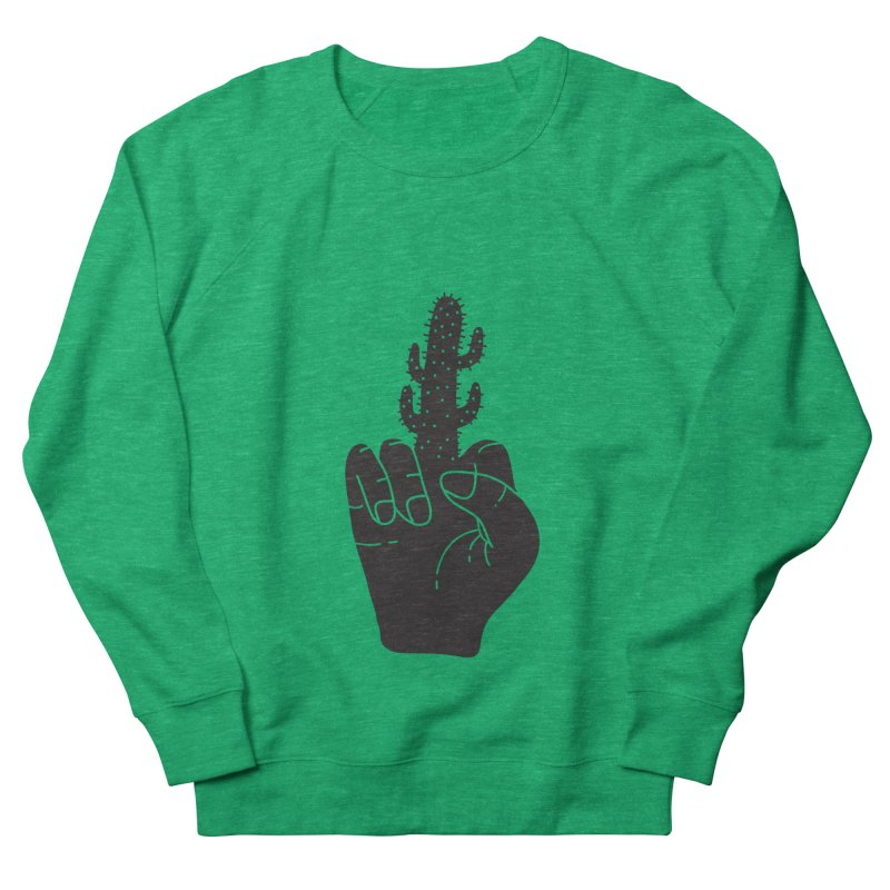 Look, a cactus Men's Sweatshirt by Diardo's Design Shop