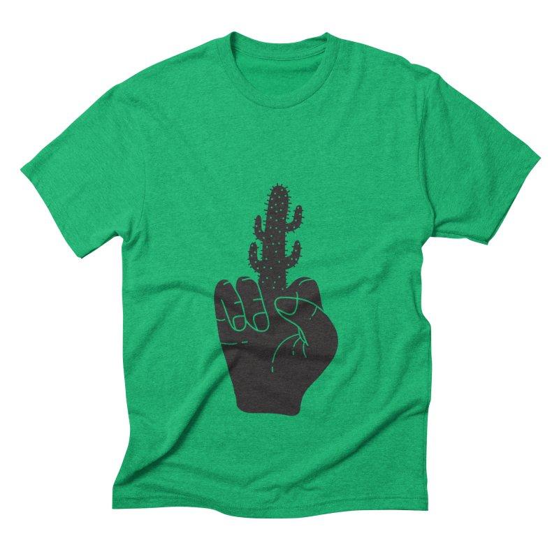 Look, a cactus Men's Triblend T-Shirt by Diardo's Design Shop