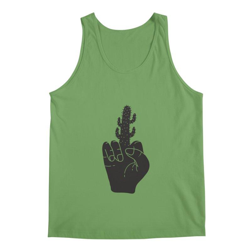 Look, a cactus Men's Tank by Diardo's Design Shop