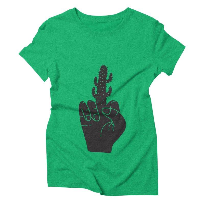 Look, a cactus Women's Triblend T-Shirt by Diardo's Design Shop