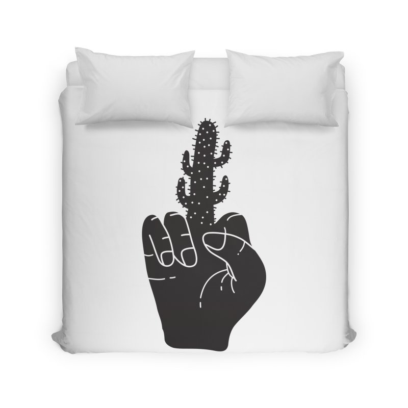 Look, a cactus Home Duvet by Diardo's Design Shop