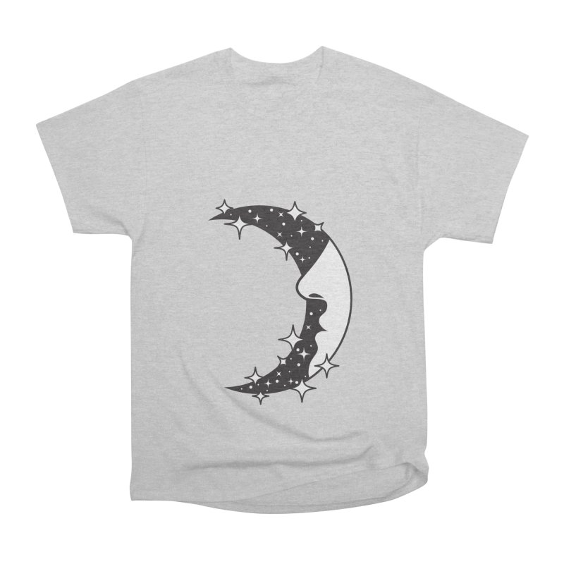Crescent Desire Women's Heavyweight Unisex T-Shirt by Diardo's Design Shop