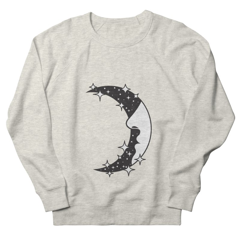Crescent Desire Women's French Terry Sweatshirt by Diardo's Design Shop