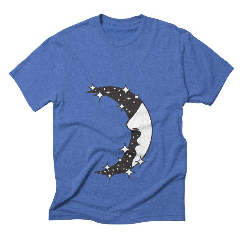 Crescent Desire Men's Triblend T-Shirt by Diardo's Design Shop