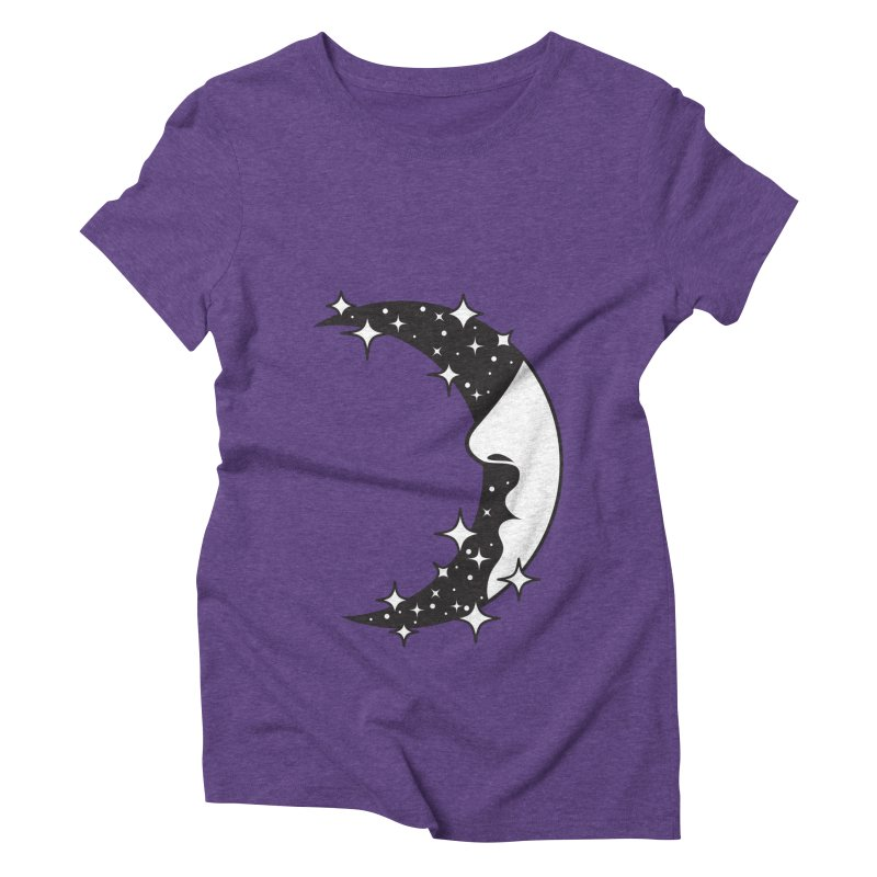 Crescent Desire Women's Triblend T-Shirt by Diardo's Design Shop