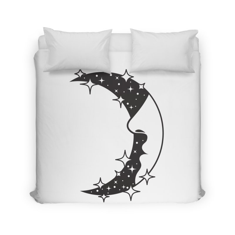 Crescent Desire Home Duvet by Diardo's Design Shop