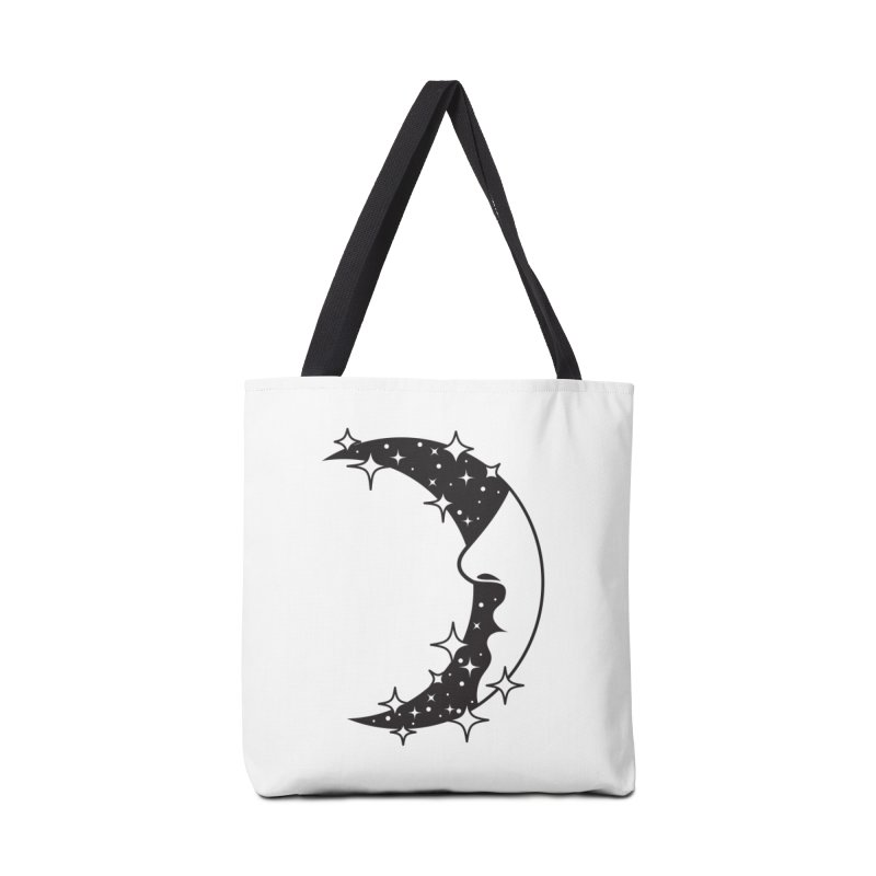Crescent Desire Accessories Tote Bag Bag by Diardo's Design Shop