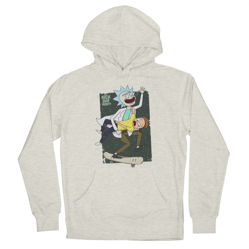 Rick and Morty Shirt Adventure Women's Pullover Hoody by Diardo's Design Shop