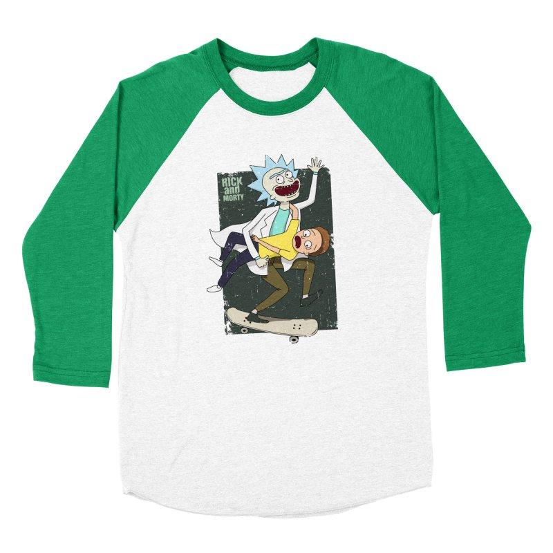 Rick and Morty Shirt Adventure Men's Longsleeve T-Shirt by Diardo's Design Shop