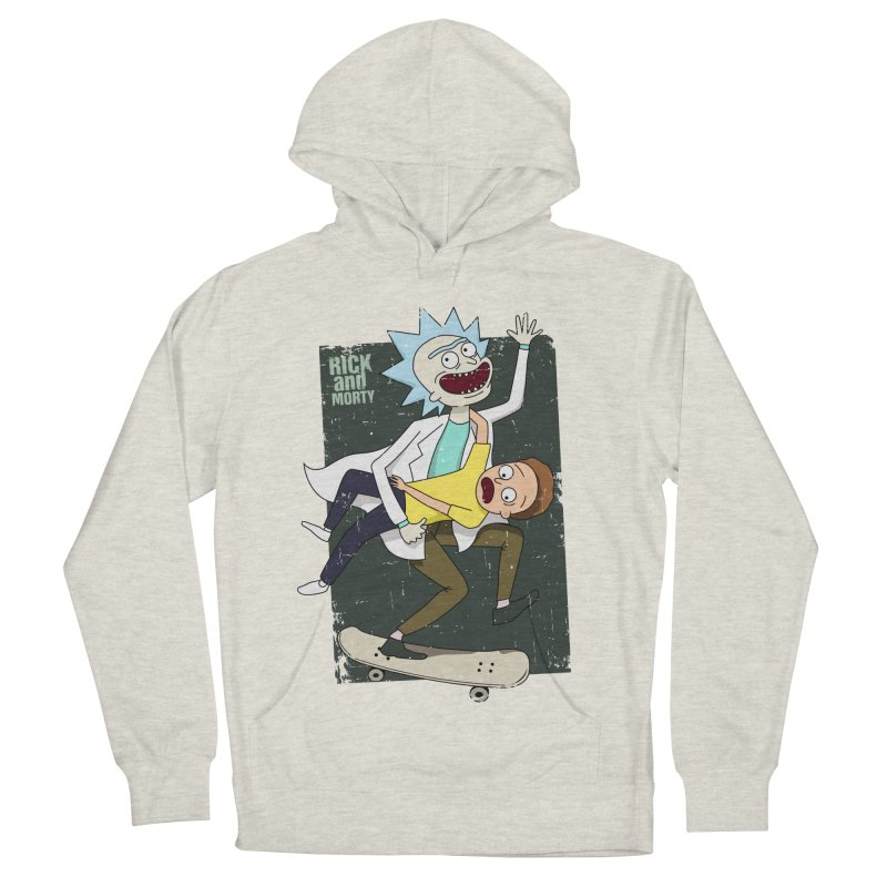 Rick and Morty Shirt Adventure Men's Pullover Hoody by Diardo's Design Shop