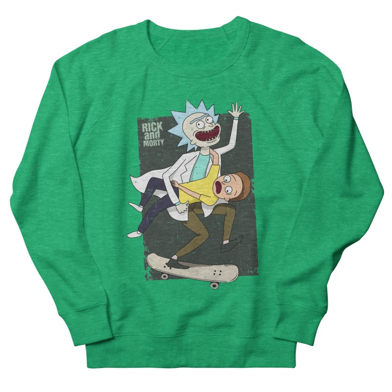 Rick and Morty Shirt Adventure Women's French Terry Sweatshirt by Diardo's Design Shop