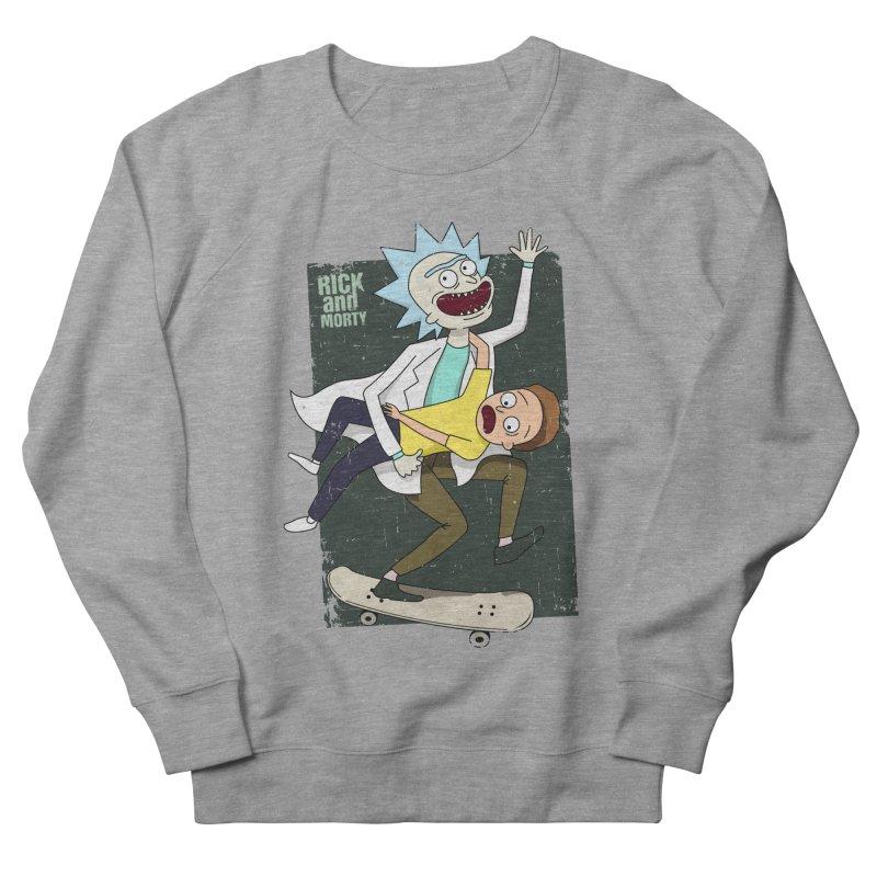 Rick and Morty Shirt Adventure Women's French Terry Sweatshirt by Diardo's Design Shop
