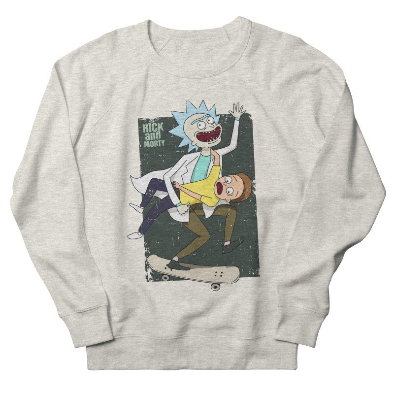 Rick and Morty Shirt Adventure Women's Sweatshirt by Diardo's Design Shop