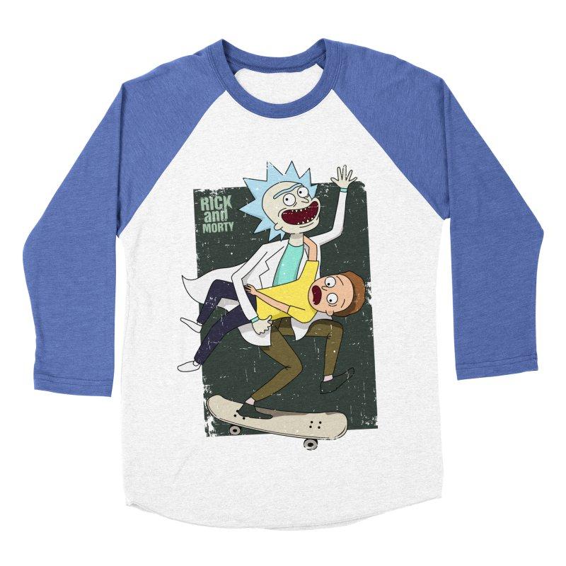 Rick and Morty Shirt Adventure Women's Baseball Triblend Longsleeve T-Shirt by Diardo's Design Shop