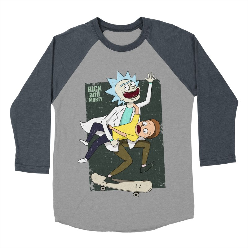 Rick and Morty Shirt Adventure Women's Baseball Triblend T-Shirt by Diardo's Design Shop