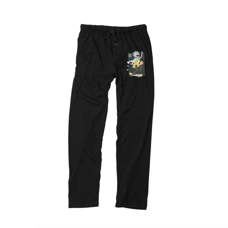 Rick and Morty Shirt Adventure Men's Lounge Pants by Diardo's Design Shop