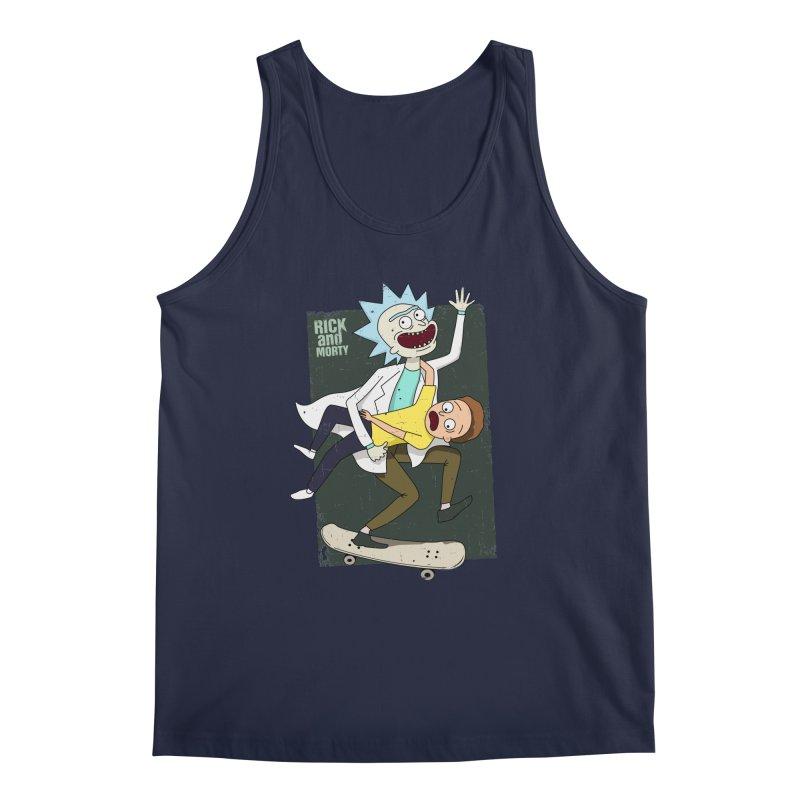 Rick and Morty Shirt Adventure Men's Tank by Diardo's Design Shop
