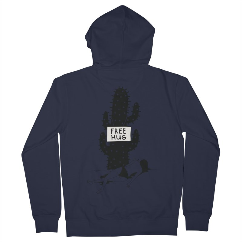 Free Hug Kills Women's French Terry Zip-Up Hoody by Diardo's Design Shop