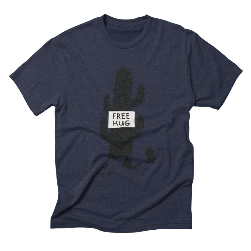 Free Hug Kills Men's Triblend T-shirt by Diardo's Design Shop