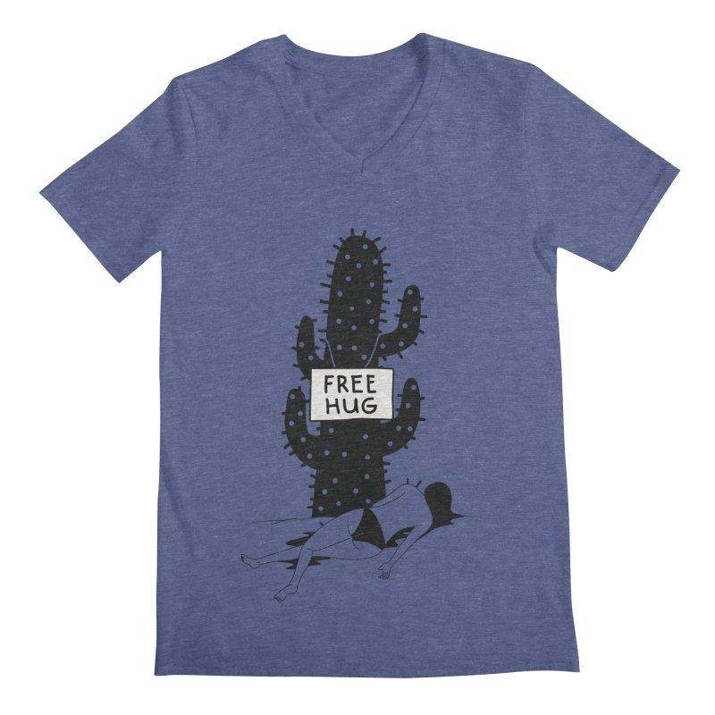 Free Hug Kills Men's V-Neck by Diardo's Design Shop