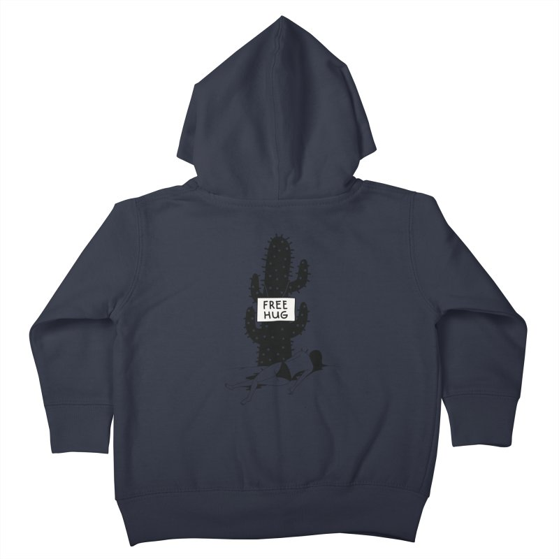 Free Hug Kills Kids Toddler Zip-Up Hoody by Diardo's Design Shop