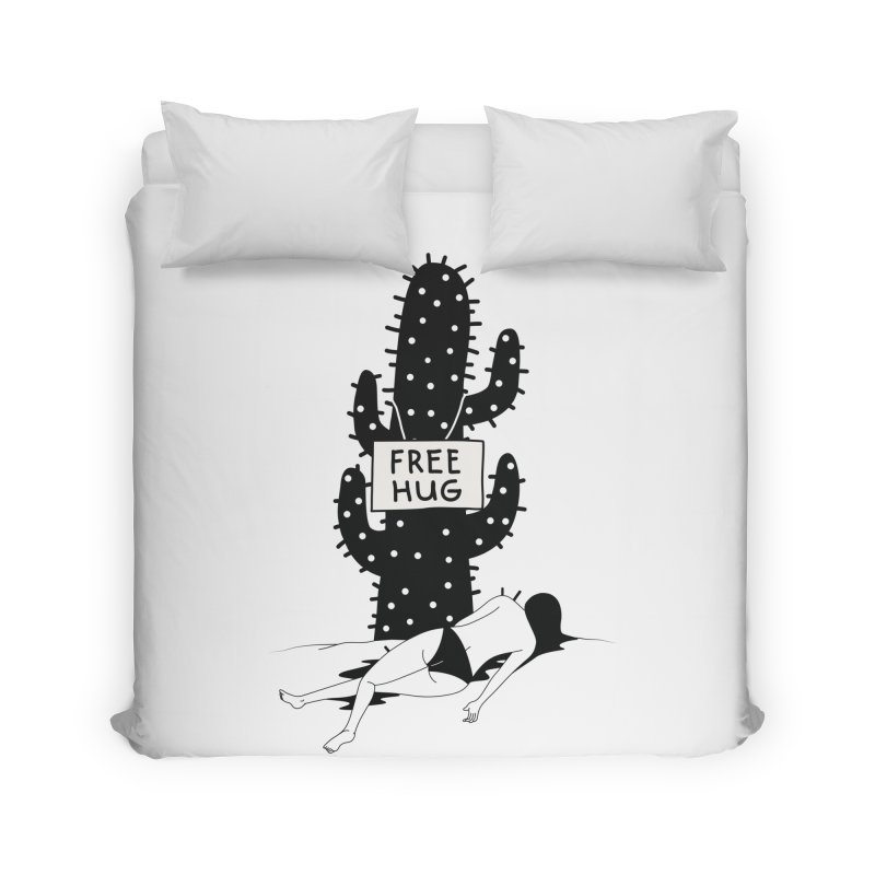 Free Hug Kills Home Duvet by Diardo's Design Shop