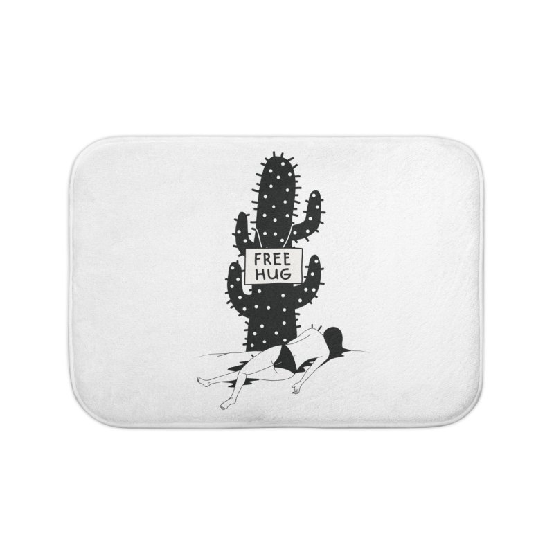 Free Hug Kills Home Bath Mat by Diardo's Design Shop