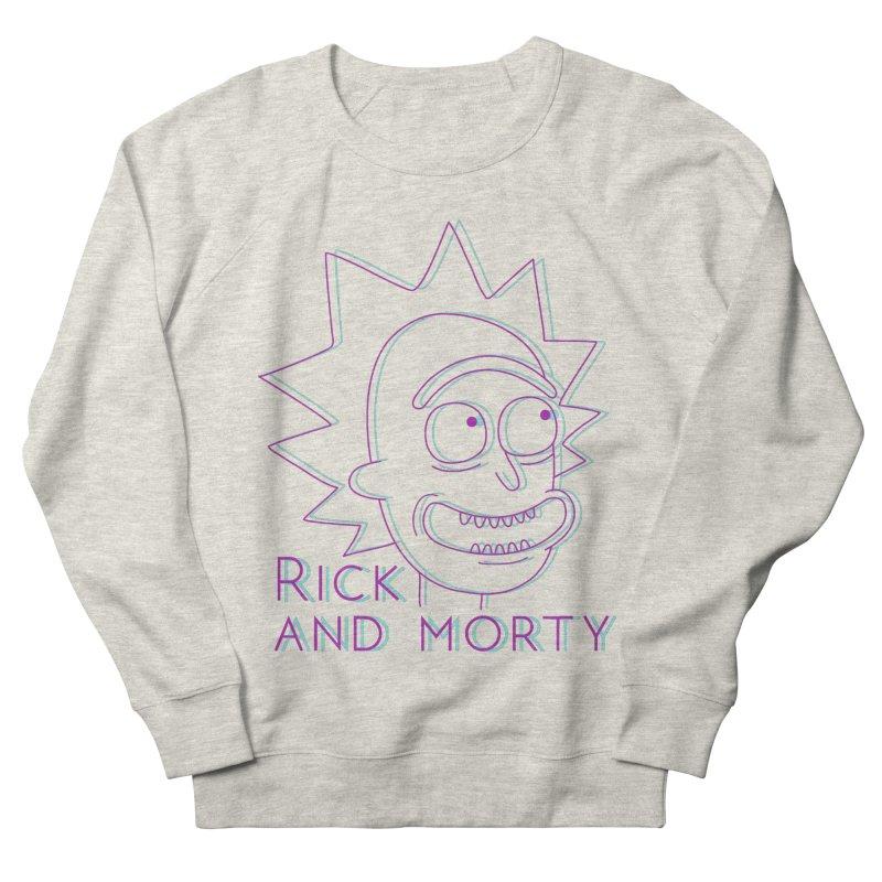Rick Sanchez Portrait Men's Sweatshirt by Diardo's Design Shop